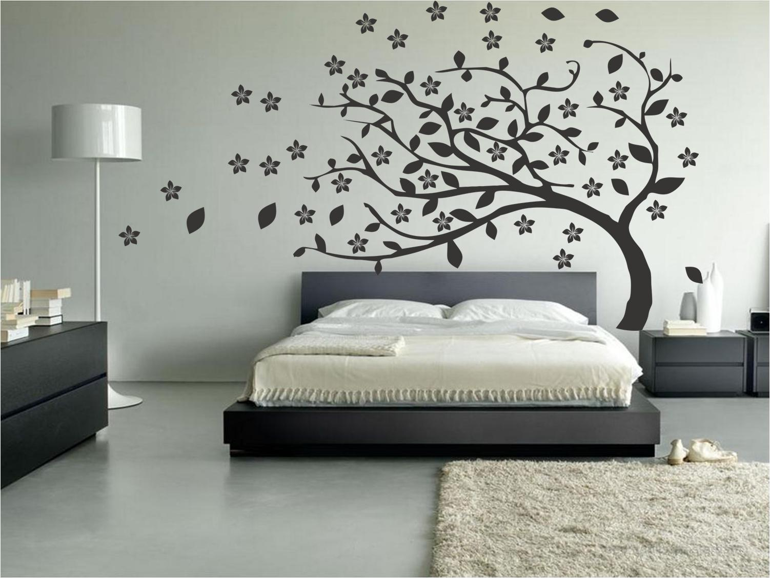 Vinilo cabecero de cama una idea diferente para tu for Decoracion de la pared para el exterior