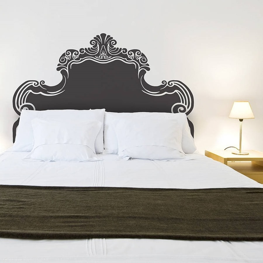Vinilo cabecero de cama una idea diferente para tu habitaci n - Cabeceros de cama manuales ...