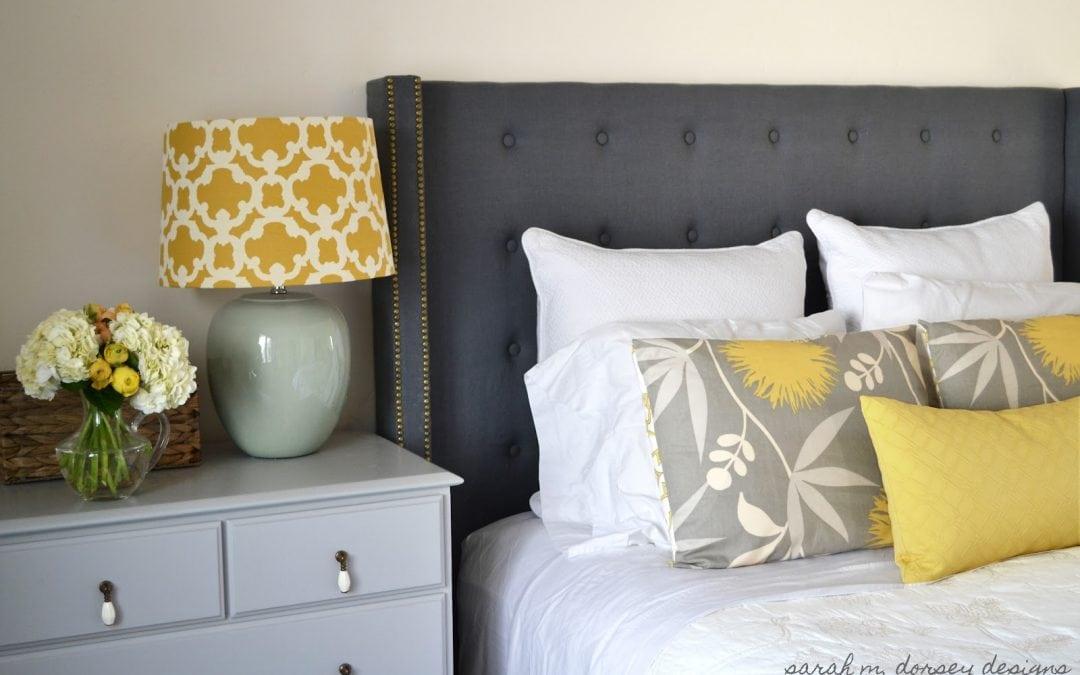 Cabeceros de cama caseros y baratos