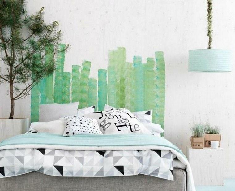 Cabeceros de cama caseros y baratos colch n expr s - Cabeceros de cama originales pintados ...