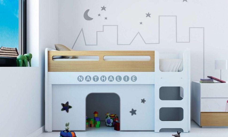 Literas para ni os seguras y funcionales colch n expr s - Escaleras para literas infantiles ...