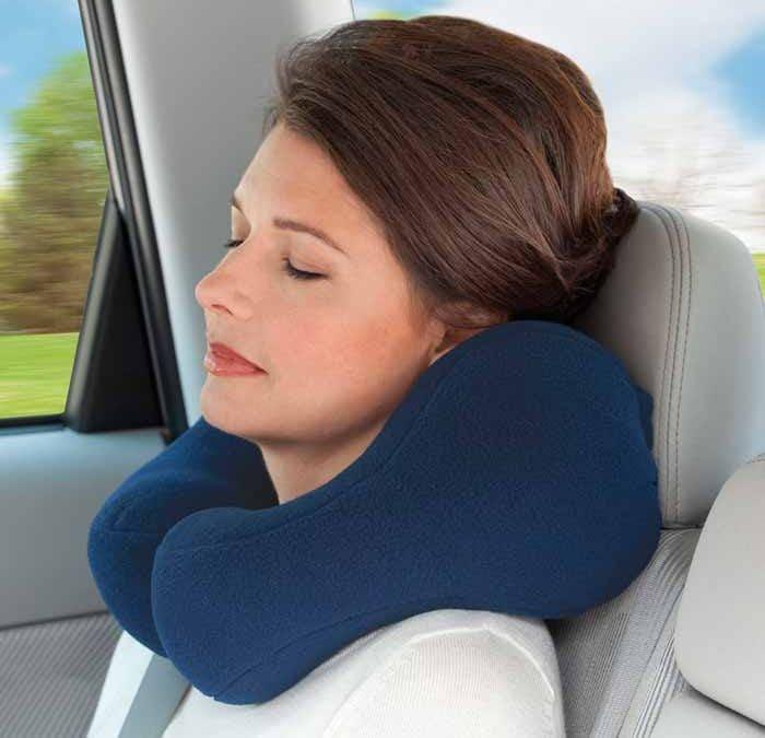 Almohada de viaje: práctica y muy cómoda