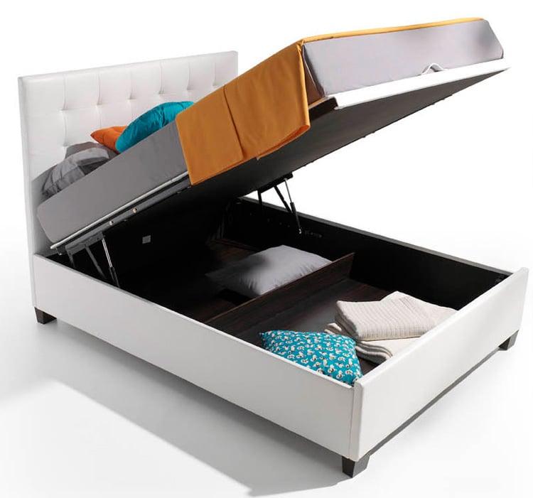 Camas canapes tan importante es el que el canap te aporte for Camas con almacenaje