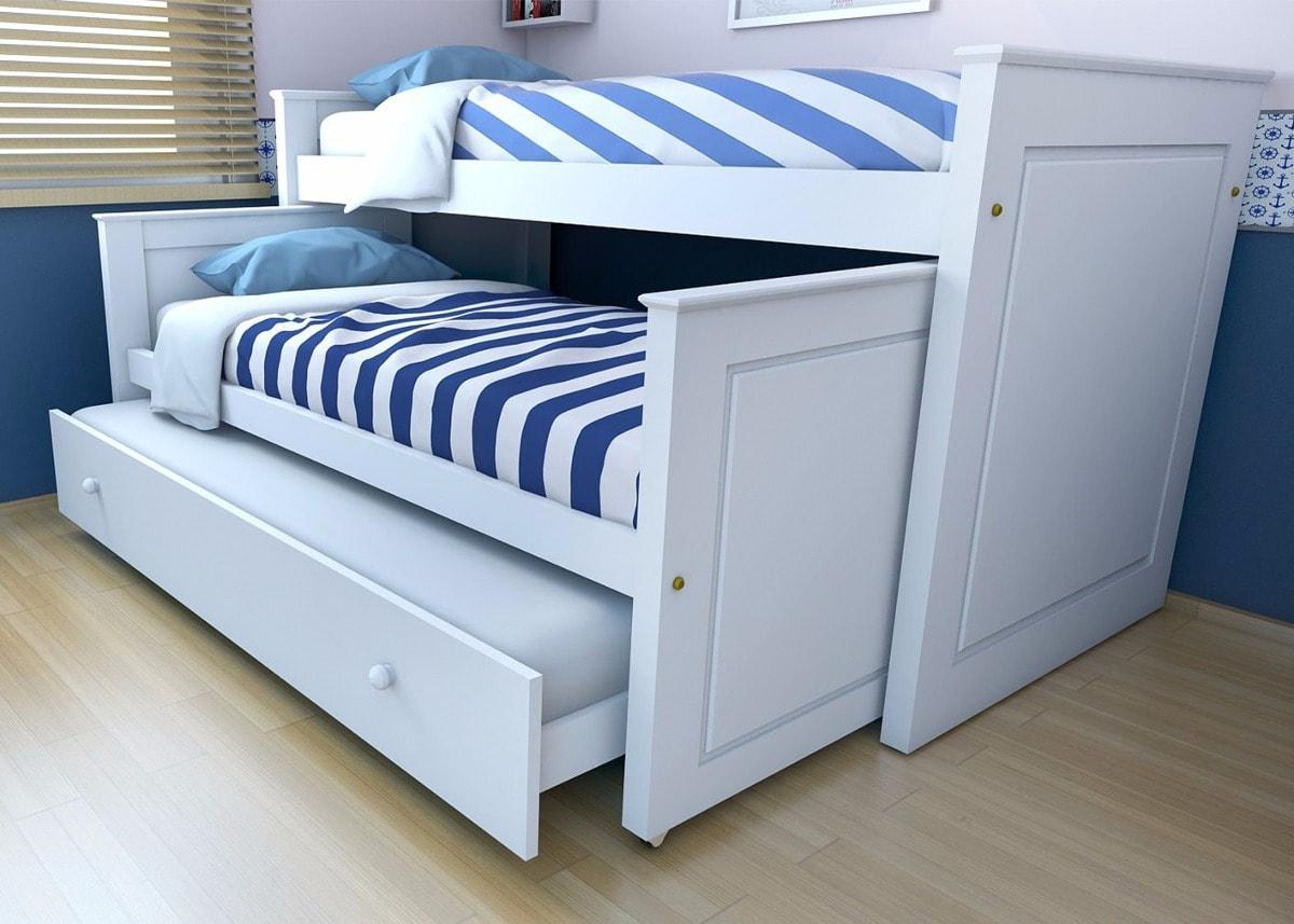 Gu a para comprar cama nido para ni os colch n expr s for Cama nido de tres camas