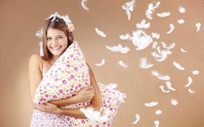 Almohadas de plumas como el primer día