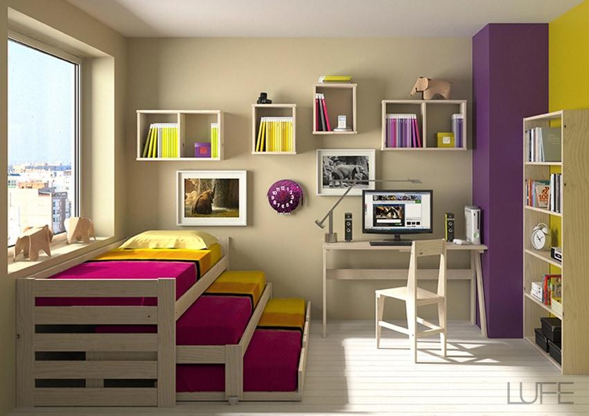 camas nido juveniles