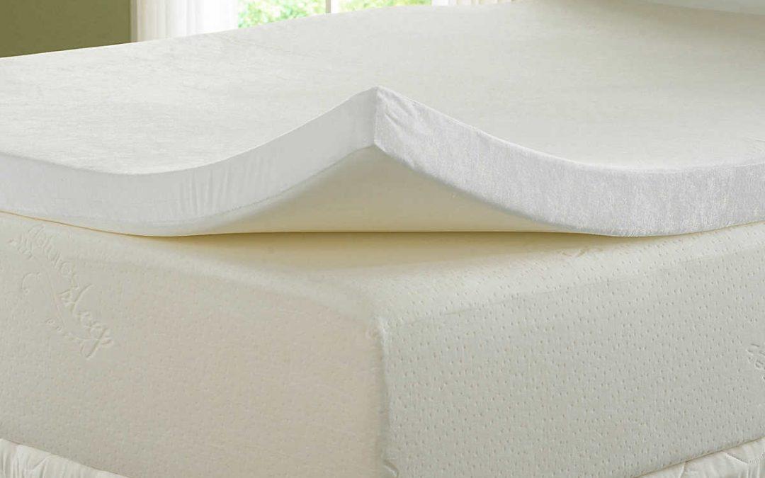 Cubre colchón viscoelástico para un extra de confort