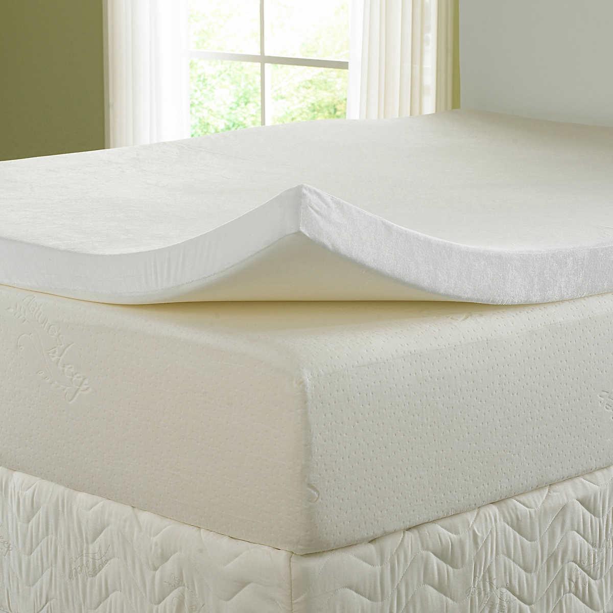 cubre colchón viscoelástico