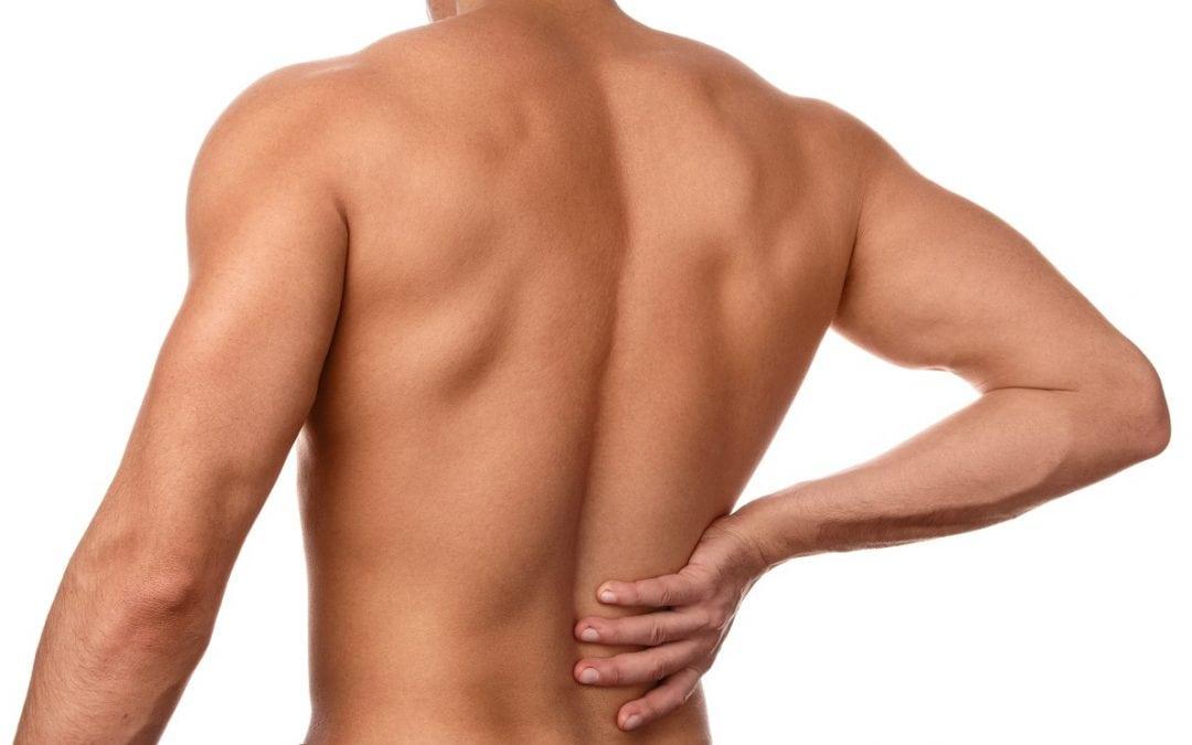 Contractura en la espalda y descanso