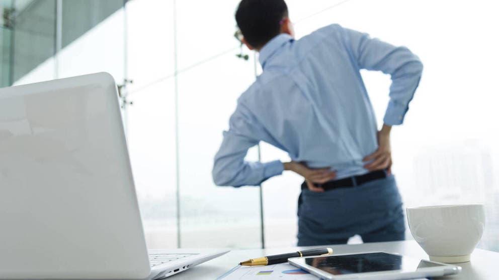 contractura en la espalda