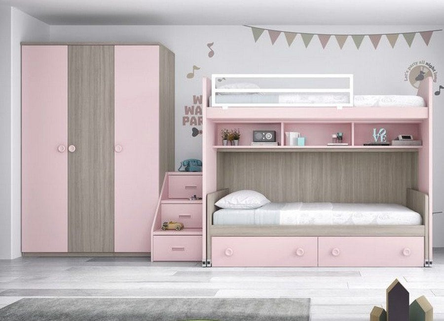 Literas pequeñas para habitaciones infantiles - Colchón Exprés