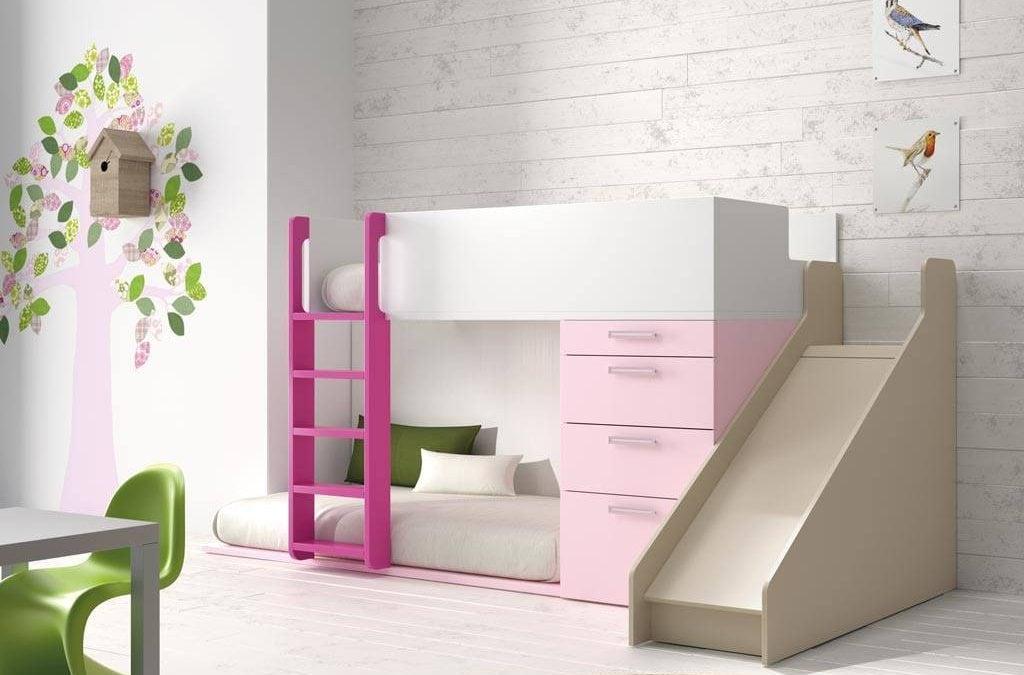 Literas pequeñas para habitaciones infantiles