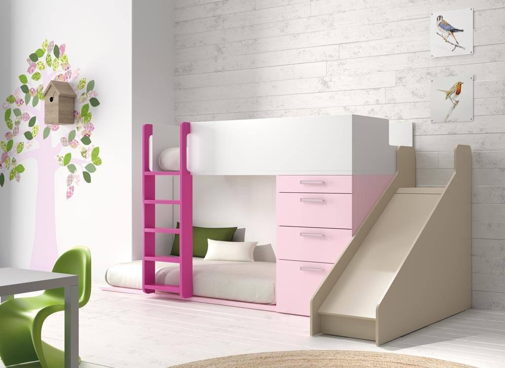 Literas peque as para habitaciones infantiles colch n expr s - Literas para habitaciones pequenas ...