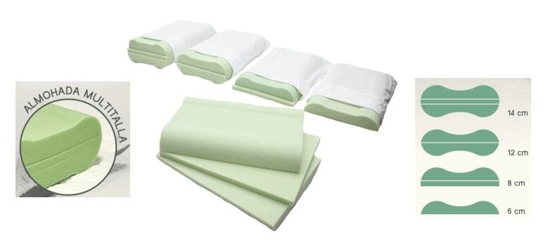 Almohada para cervicales 4 en 1