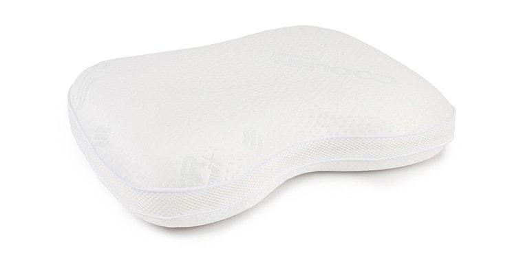 Almohada cervical de viscolátex para dormir de lado