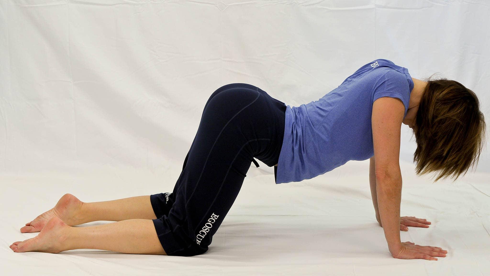 posición rodillas