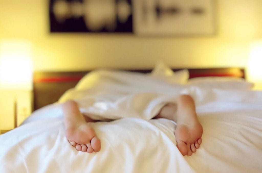 escoge una postura adecuada para descansar