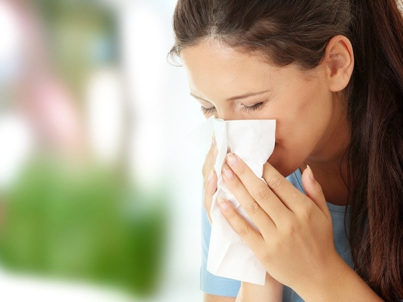 efectos de la alergia a los ácaros