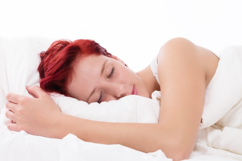 una almohada alta y firme