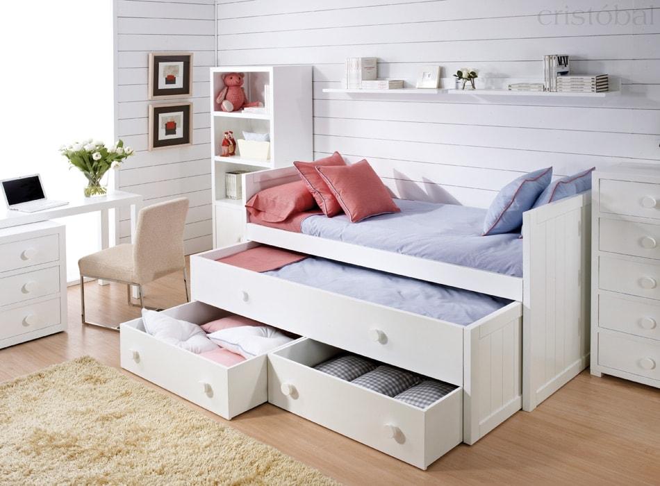 camas compactas juveniles