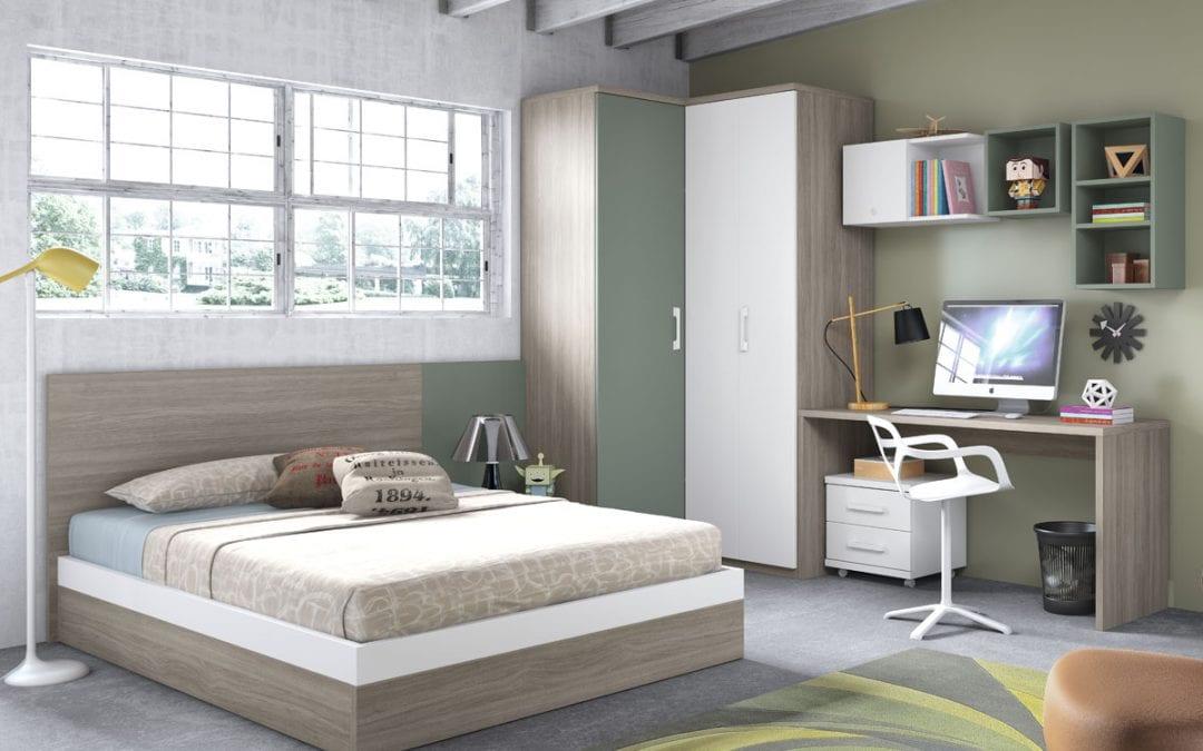 Camas dobles juveniles para todos los gustos colch n expr s for Ikea camas juveniles