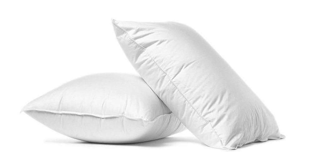 almohadas de materias primas distintas