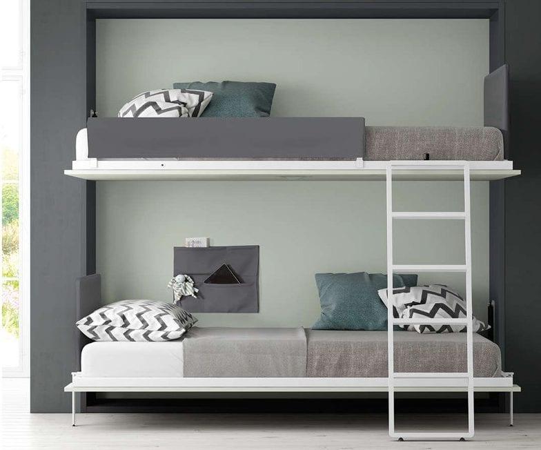 Camas abatibles precios top nuevo diseo barato precios muebles de dormitorio pared plegable - Precios literas abatibles ...