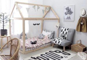camas bajas para niños