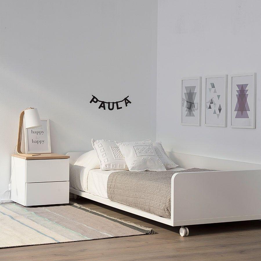 Camas Bajas Para Ninos Aplica El Metodo Montessori A Su Dormitorio - Cama-para-nios-pequeos