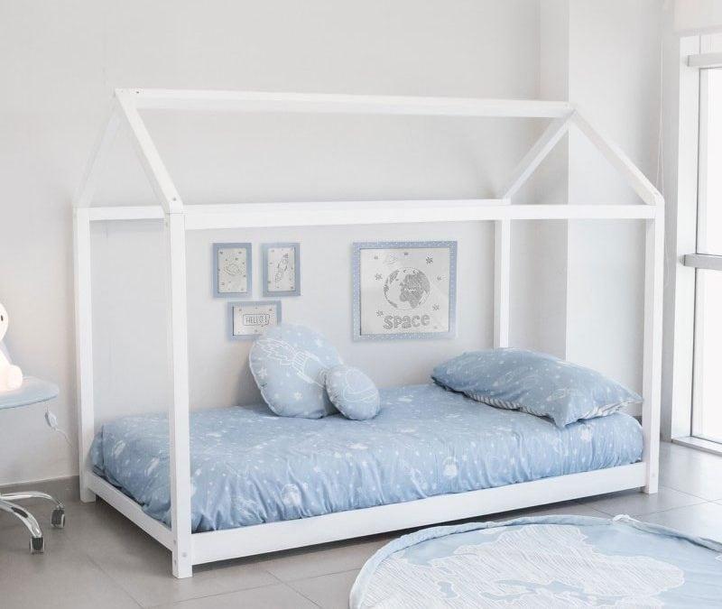 Camas bajas para ni os aplica el m todo montessori a su dormitorio - Camas a medida para ninos ...