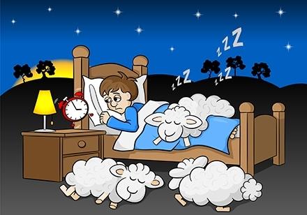 Persona que duerme en un colchón de mala calidad
