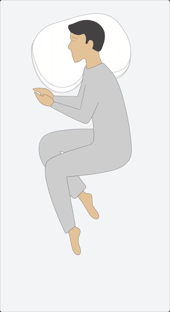Como colocar adecuadamente una almohada cervical