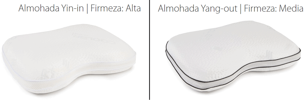 Almohadas Cervicales Yin-IN y Yang-OUT