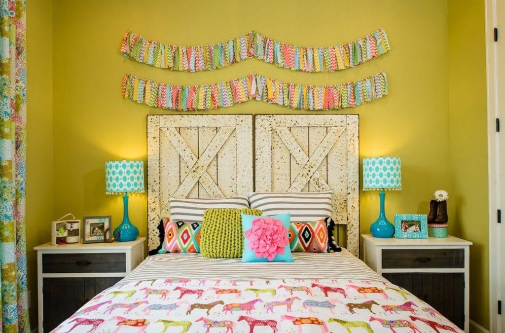 Cabeceros de cama originales y modernos para niños