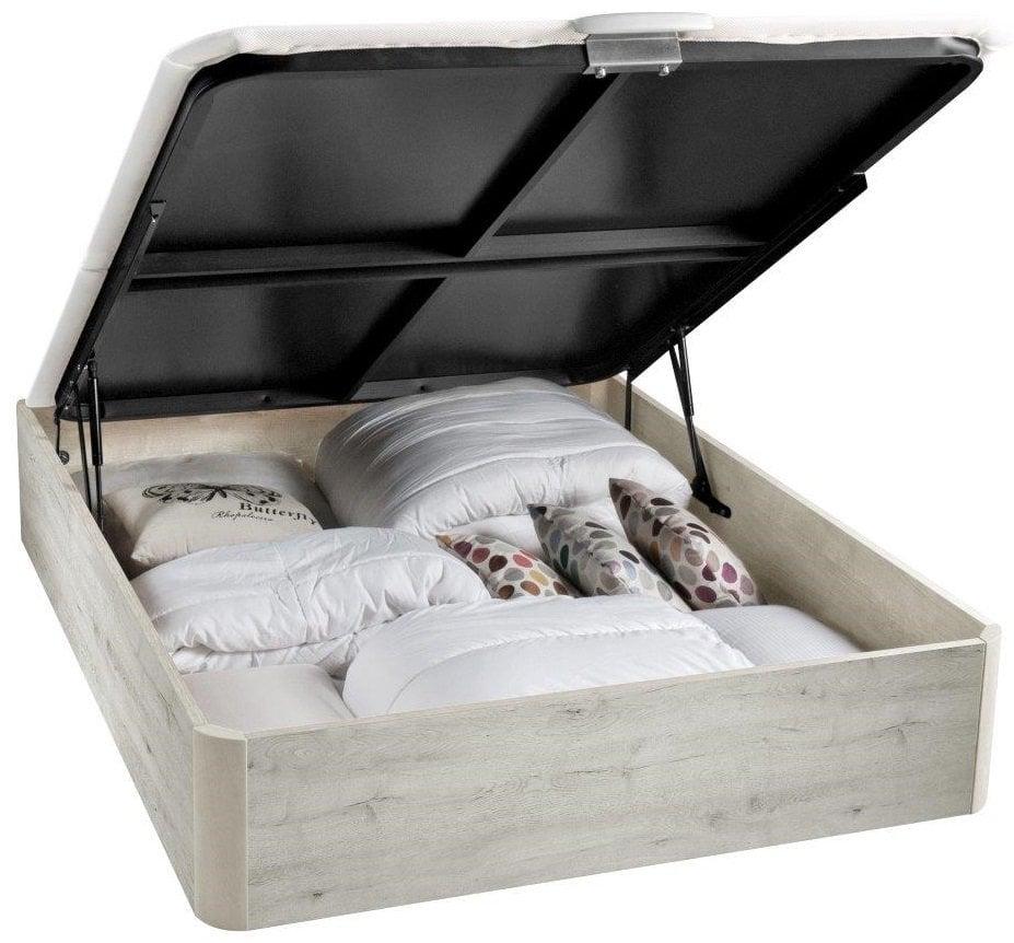 El canapé de láminas es una solución ideal de almacenaje