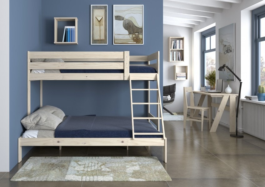 Literas de matrimonio : una alternativa a la cama tradicional