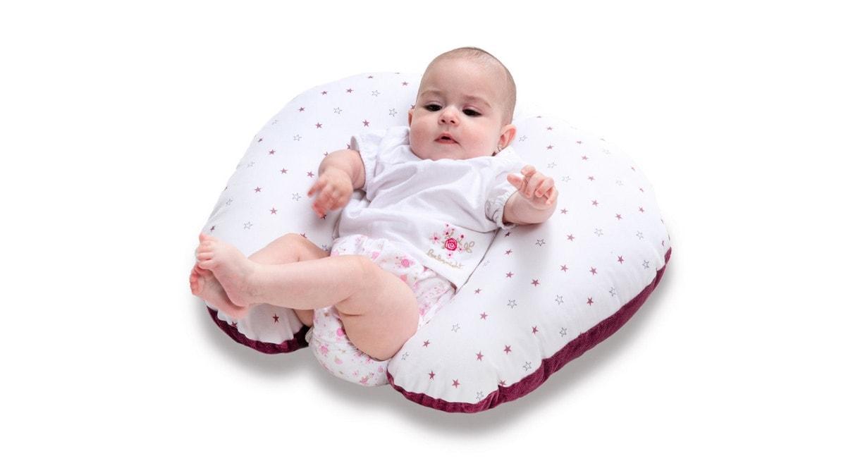 los beneficios de la almohada de lactancia para el bebé