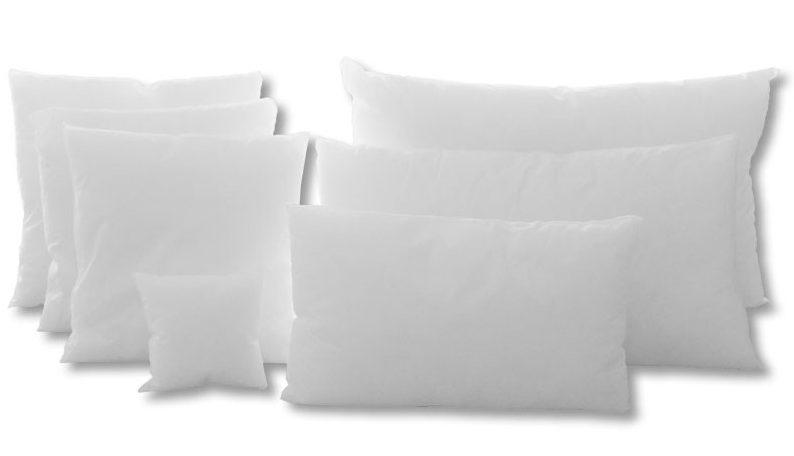 almohadas de todos los tamaños
