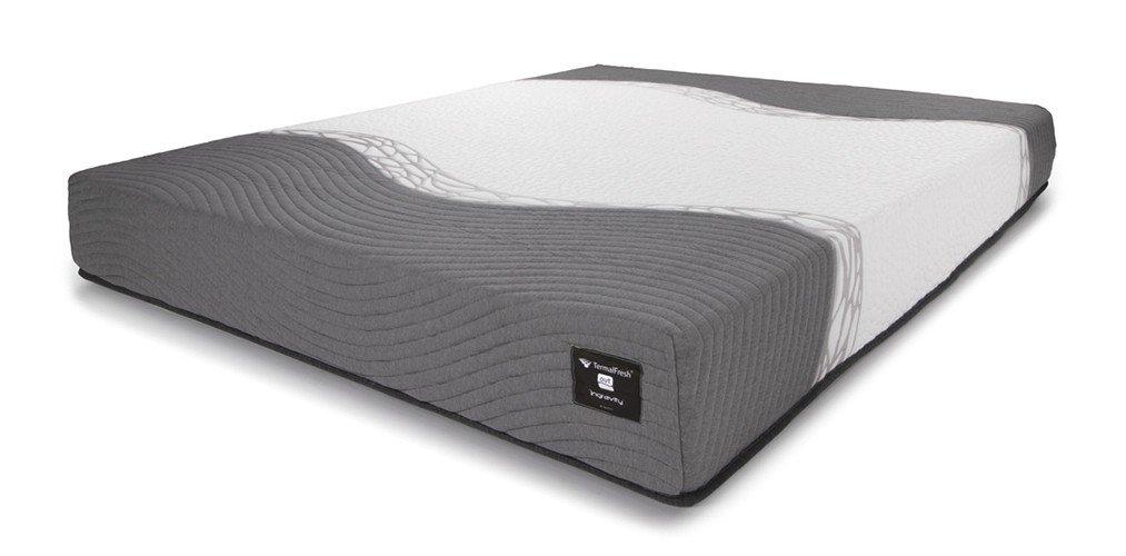 Colchón híbrido con látex para cama de 90