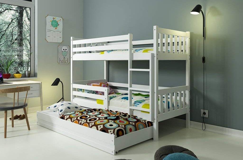 Literas triples para el dormitorio de tus hijos