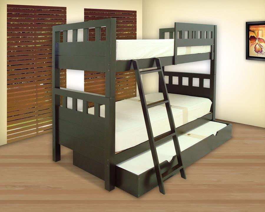 literas triples con cama nido