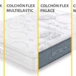 Comparativa de colchones Flex con muelles Multielastic