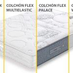 Comparativa de colchones Flex Multielastic