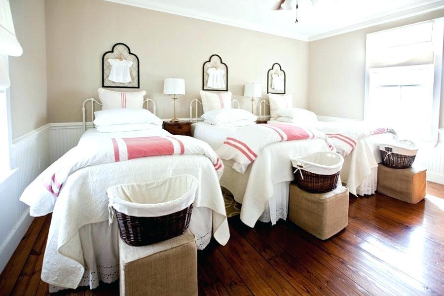 Habitaciones con tres camas : Formas de organizarlas