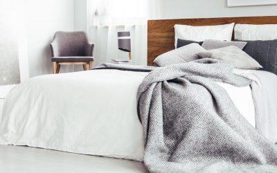 El arte de vestir una cama con estilo