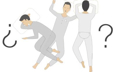 ¿Sabes cuál es la mejor postura para dormir?