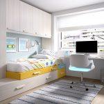 Colores para habitaciones pequeñas juveniles que agrandan el espacio