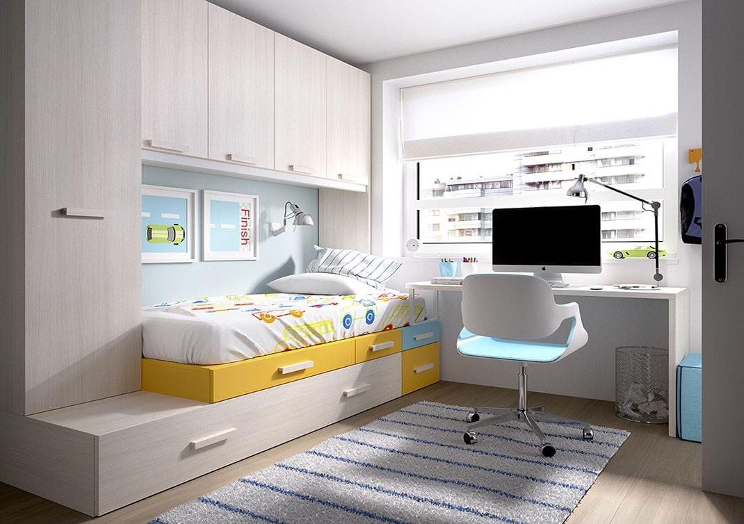 colores para habitaciones pequeñas juveniles