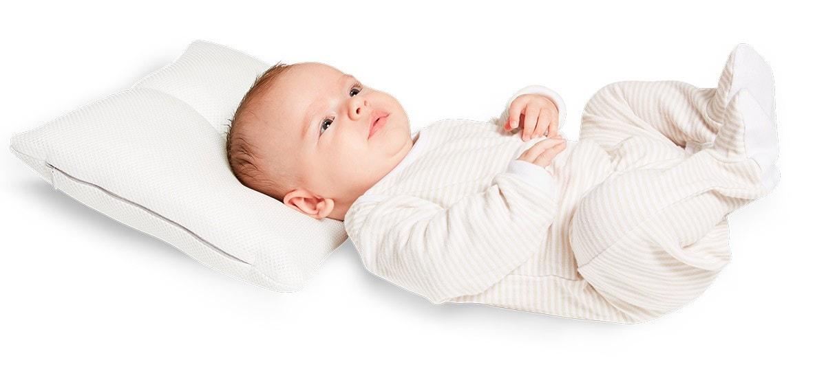 almohada plagiocefalia