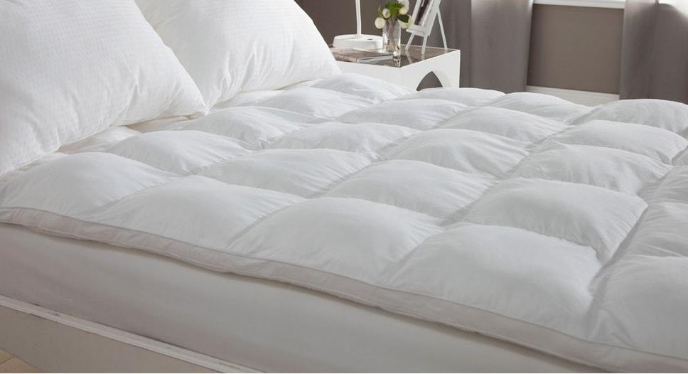 las ventajas del cubre colchón de plumas